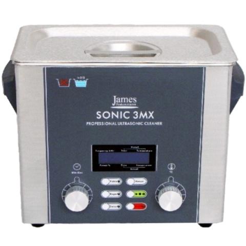 אמבטייה לניקוי אולטראסוני - 3 ליטר - SONIC 3MX JAMES PRODUCTS