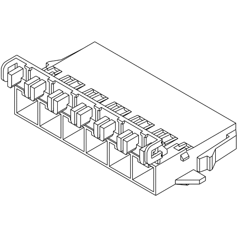 MOLEX 10.00MM PITCH MINI-FIT SR CONNECTORS