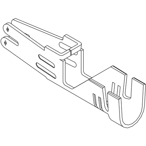 פין ללחיצה למחברי MOLEX - סדרת MINI FIT SR - נקבה 10-12AWG MOLEX