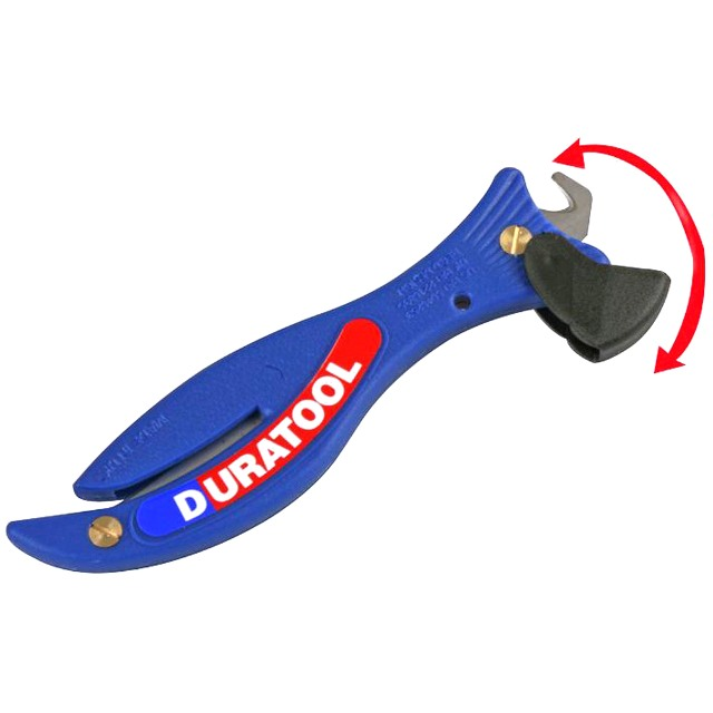 DURATOOL F200 FISH STYLE SAFETY KNIFE