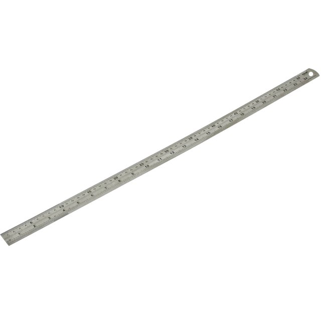 DURATOOL SATIN FINISH STAINLESS STEEL RULERS