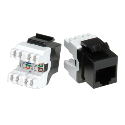 ROLINE CAT6 RJ45 MODULAR KEYSTONE CONNECTOR - 26.11.0352