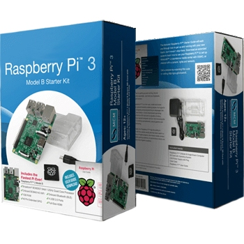 RASPBERRY PI 3 - MODEL B 1GB - STARTER KIT RASPBERRY PI