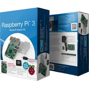 RASPBERRY PI 3 MODEL B - STARTER KIT