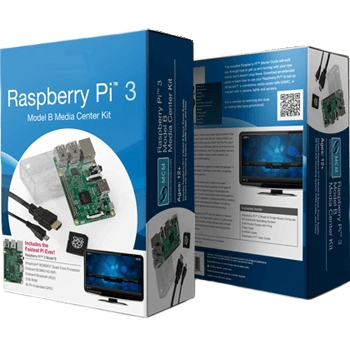 RASPBERRY PI 3 MODEL B - MEDIA CENTER KIT
