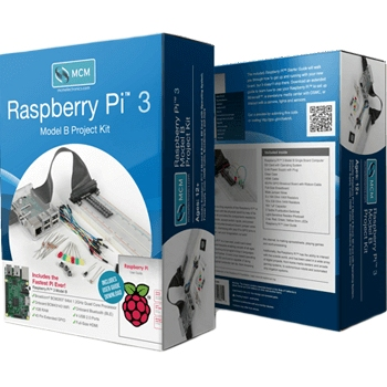 RASPBERRY PI 3 MODEL B - PROJECT KIT