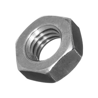 DURATOOL FULL NUTS - A2 STAINLESS STEEL