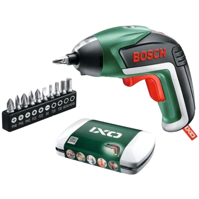 מברגה נטענת 3.6V קומפקטית - BOSCH IXO V BASIC KIT BOSCH