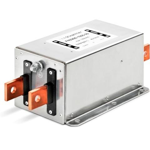 מסנן EMC / RFI עם חיבור לפאנל - סדרה 25A - FN2200B SCHAFFNER