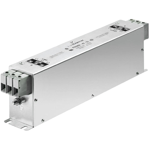 מסנן EMC / RFI תלת פאזי עם חיבור לפאנל - סדרה 180A - FN3258H SCHAFFNER