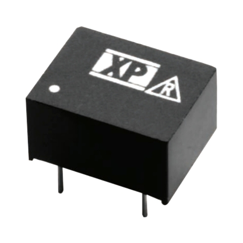 ממיר מתח - 1W , 21.6VDC ~ 26.4VDC ⇒ 12VDC , 84MA XP POWER