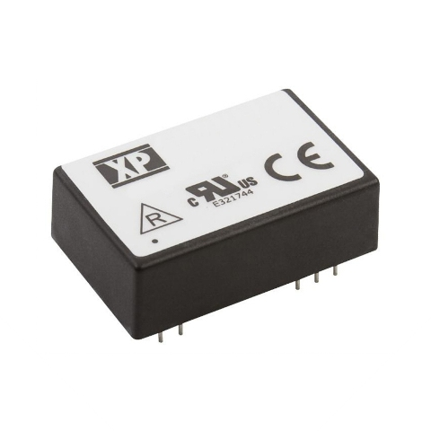 ממיר מתח - 6W , 20VDC ~ 30VDC ⇒ 12VDC , 500MA XP POWER