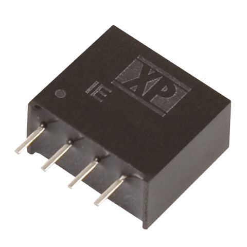 ממיר מתח - 1W , 10.8VDC ~ 13.2VDC ⇒ 15VDC , 66MA XP POWER