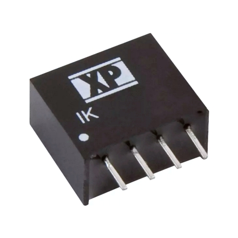 ממיר מתח - 0.25W , 4.5VDC ~ 5.5VDC ⇒ 12VDC , 21MA XP POWER