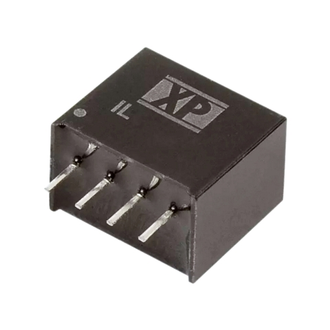 ממיר מתח - 2W , 4.5VDC ~ 5.5VDC ⇒ 3.3VDC , 400MA XP POWER