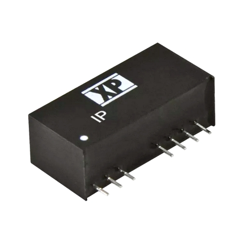 ממיר מתח - 3W , 18VDC ~ 75VDC ⇒ 12VDC , 250MA XP POWER