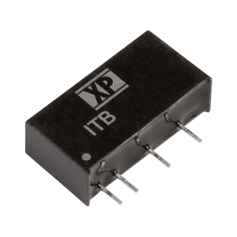 ממיר מתח - 1W , 21.6VDC ~ 26.4VDC ⇒ 12VDC , 83MA XP POWER