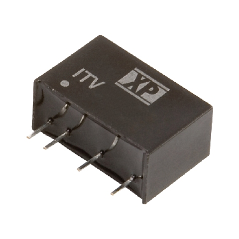 ממיר מתח - 1W , 10.8VDC ~ 13.2VDC ⇒ 12VDC , 83MA XP POWER