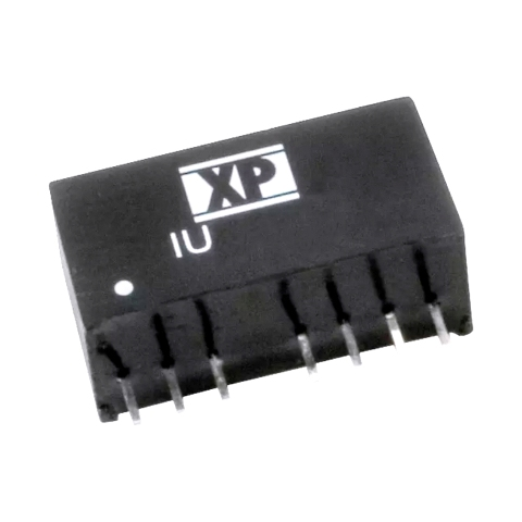 ממיר מתח - 2W , 4.5VDC ~ 9VDC ⇒ 3.3VDC , 500MA XP POWER