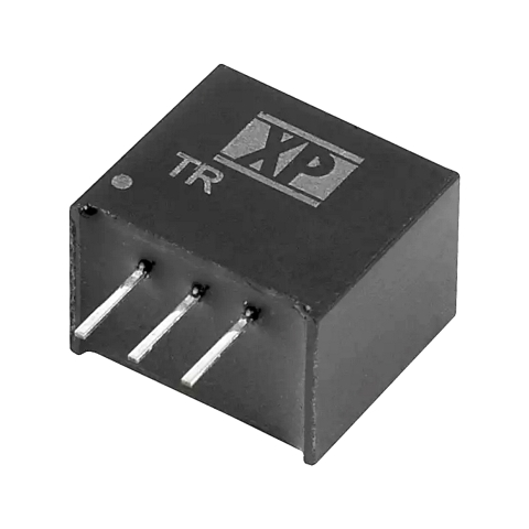 ממיר מתח - 2.5W , 7VDC ~ 28VDC ⇒ 5VDC , 500MA XP POWER