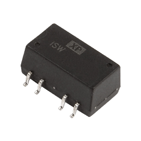 ממיר מתח - 1W , 4.75VDC ~ 5.25VDC ⇒ 12VDC , 84MA XP POWER
