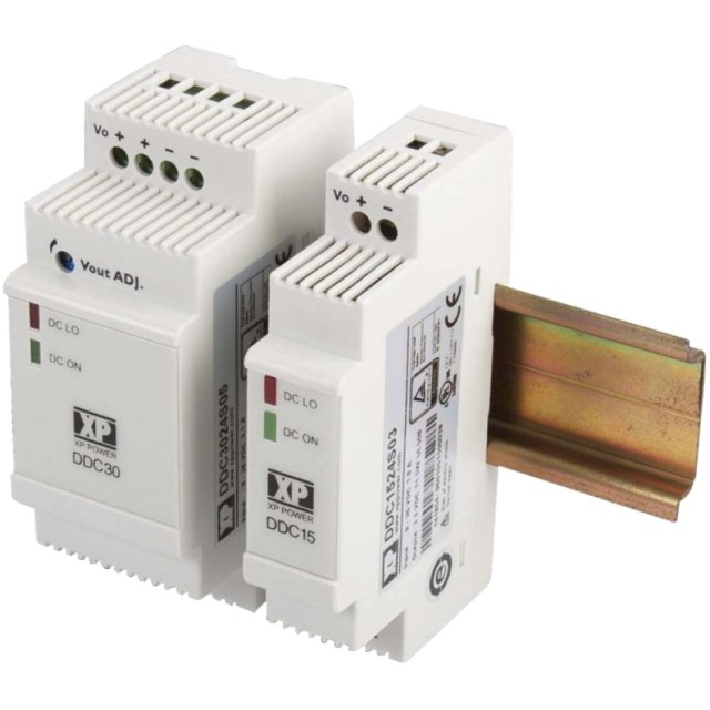 ממיר מתח - 15W , 9VDC ~ 36VDC ⇒ 24VDC , 630MA XP POWER