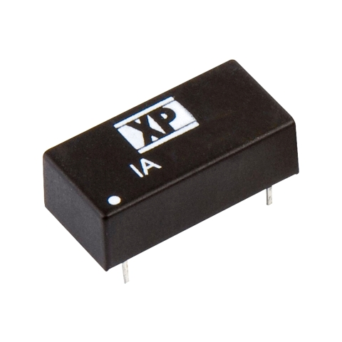 XP POWER 1W DUAL OUTPUT DIP DC TO DC CONVERTERS - IA SERIES