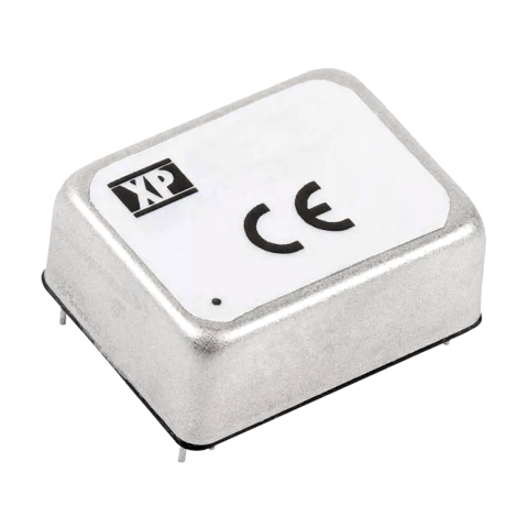ממיר מתח - 6W , 36VDC ~ 75VDC ⇒ ±12VDC , 250MA XP POWER