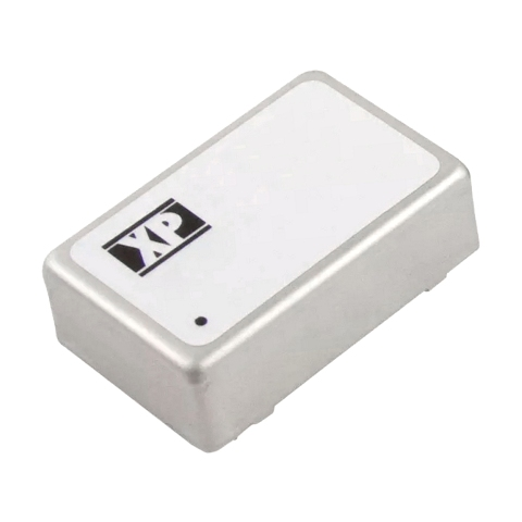 ממיר מתח - 6W , 36VDC ~ 72VDC ⇒ ±12VDC , 250MA XP POWER