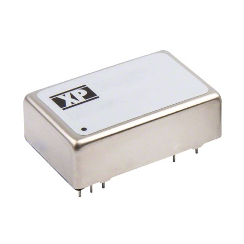 ממיר מתח - 12W , 36VDC ~ 75VDC ⇒ ±15VDC , 400MA XP POWER
