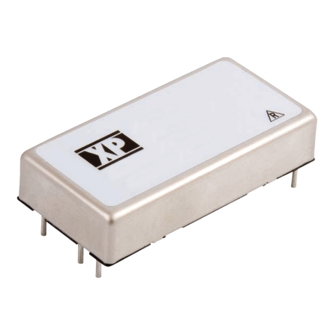 XP POWER 40W DUAL OUTPUT DIP DC TO DC CONVERTERS - JCK SERIES