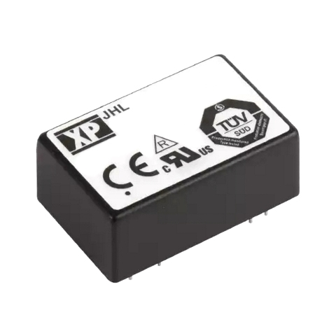 ממיר מתח - 3W , 10VDC ~ 17VDC ⇒ ±15VDC , 100MA XP POWER