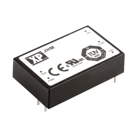 XP POWER 15W DUAL OUTPUT DIP DC TO DC CONVERTERS - JHM SERIES