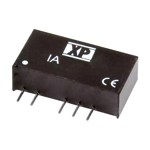 ממיר מתח - 1W , 4.5VDC ~ 5.5VDC ⇒ ±15VDC , 33MA XP POWER