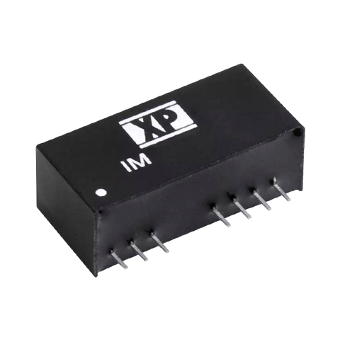 ממיר מתח - 2W , 9VDC ~ 36VDC ⇒ ±15VDC , 65MA XP POWER