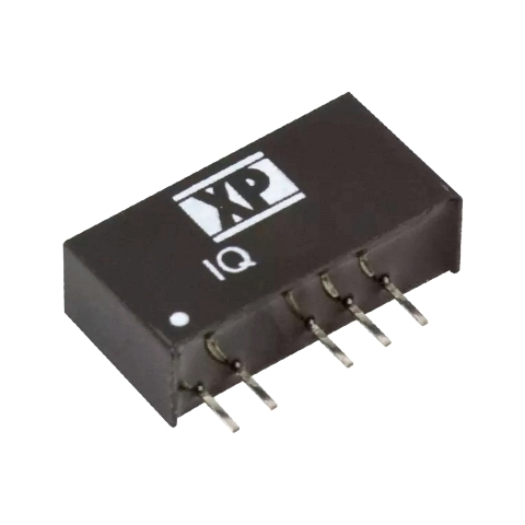 ממיר מתח - 1W , 10.8VDC ~ 12VDC ⇒ ±5VDC , 100MA XP POWER
