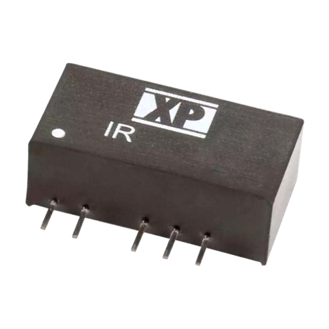 ממיר מתח - 3W , 10.8VDC ~ 12VDC ⇒ ±5VDC , 300MA XP POWER