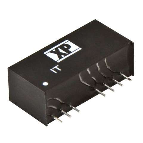 ממיר מתח - 3W , 18VDC ~ 75VDC ⇒ ±15VDC , 100MA XP POWER