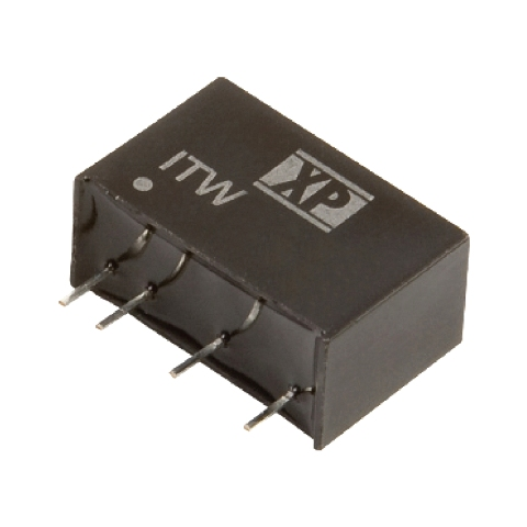 ממיר מתח - 1W , 4.5VDC ~ 9VDC ⇒ ±12VDC , 42MA XP POWER