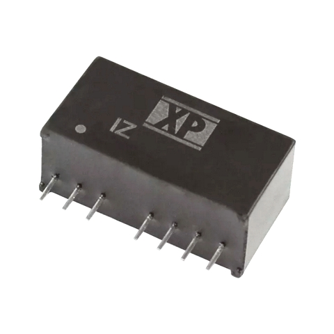 ממיר מתח - 3W , 4.5VDC ~ 9VDC ⇒ ±12VDC , 125MA XP POWER