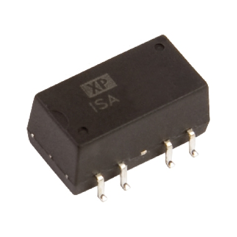 ממיר מתח - 1W , 21.6VDC ~ 26.4VDC ⇒ ±15VDC , 33MA XP POWER