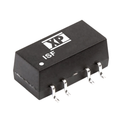 ממיר מתח - 1W , 10.8VDC ~ 13.2VDC ⇒ ±15VDC , 33.5MA XP POWER