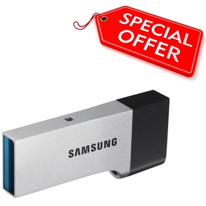 זיכרונות ניידים USB3.0 - סדרת SAMSUNG CB - הטבה מיוחדת SAMSUNG