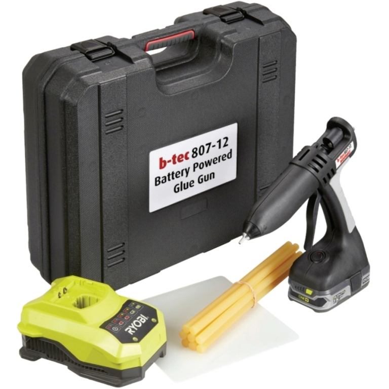 POWER ADHESIVES HOT GLUE GUN - TEC 807 KIT