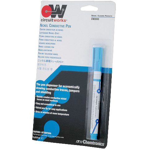 CHEMTRONICS NICKEL CONDUCTIVE DISPENSING PEN - CW2000