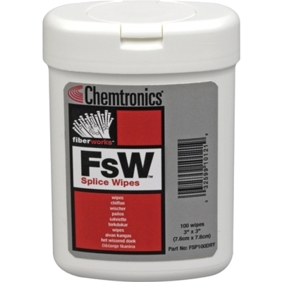 מטליות ניקוי יבשות לסיבים אופטיים - FSW CHEMTRONICS