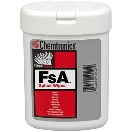 CHEMTRONICS WET & DRY FIBER OPTIC WIPES - FSA & FSW