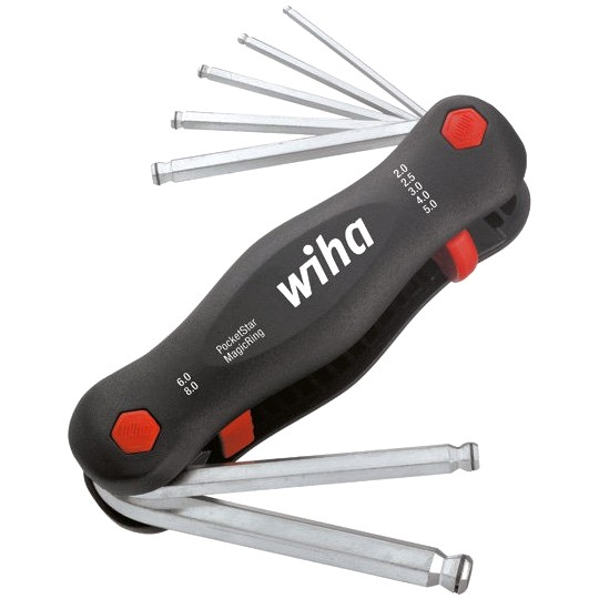 WIHA FOLD UP BALL POINT ALLEN KEY SET - 23031 369R P7