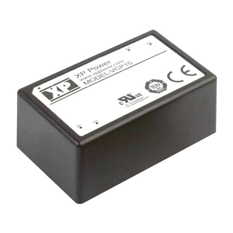 ספק כוח AC/DC למעגל מודפס - 24W - 90V~264V ⇒ 15V / 1.6A XP POWER