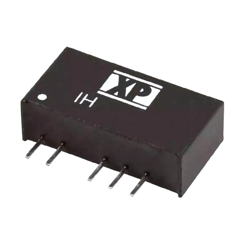 ממיר מתח - 2W , 43.2VDC ~ 52.8VDC ⇒ ±5VDC , 200MA XP POWER